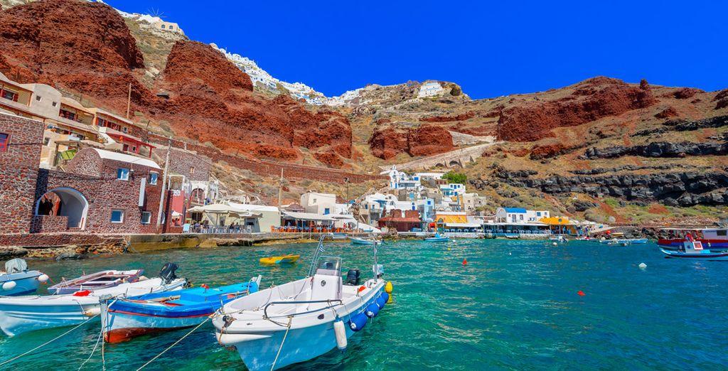 Laissez-vous tenter par les superbes îles grecques que sont la Crète et Santorin