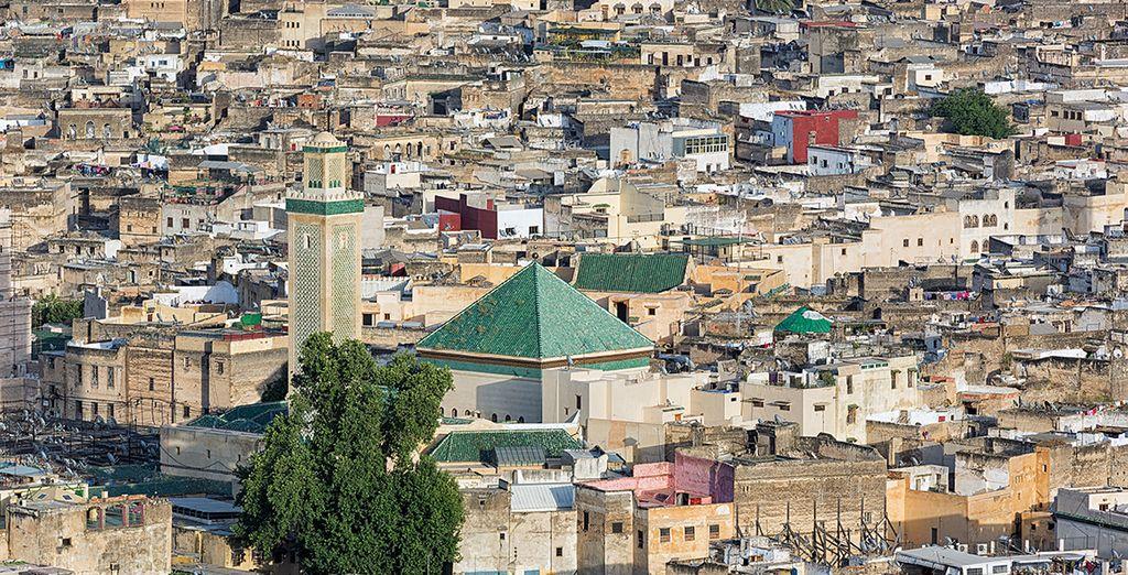Goûtez à l'authenticité de la vie marocaine en flânant dans la médina