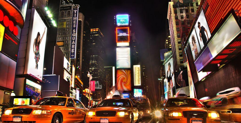 L'effervescence de Times Square n'attend que vous