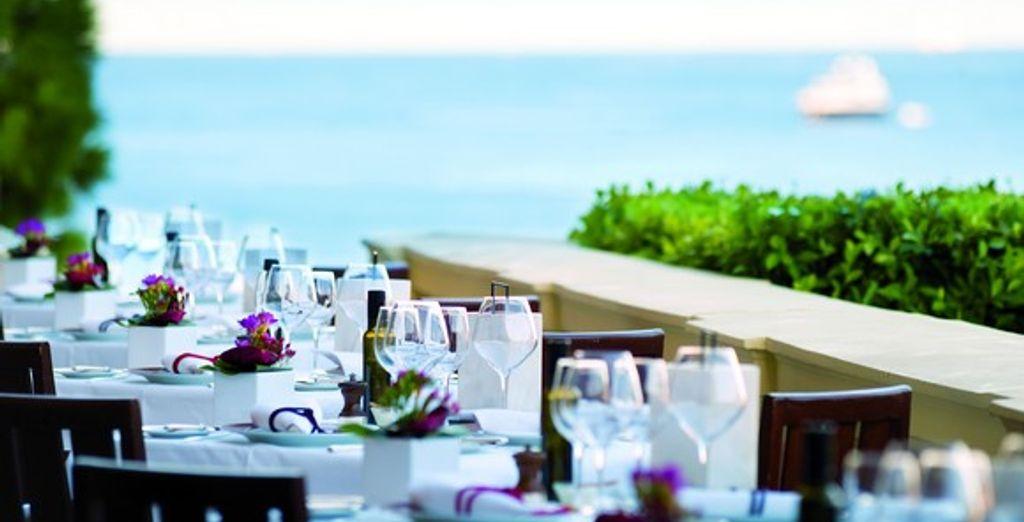 La table du restaurant