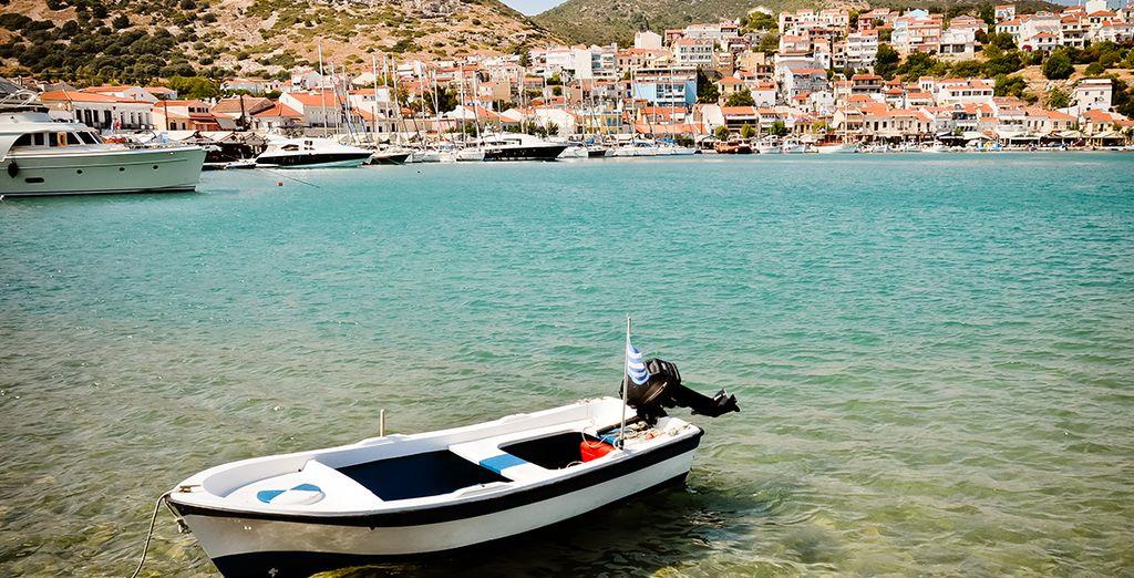 Ce magnifique combiné vous emmènera sur les rives de Samos...