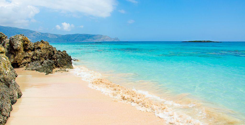 Les sublimes plages et lagons d'Elafonisi