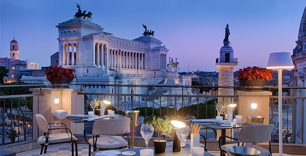 Hôtel NH Collection Roma Fori Imperiali 5*