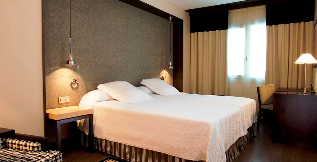 Vous serez surclassé en chambre Supérieure... - Hôtel NH Numancia 4* Barcelone