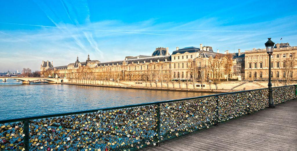 Et partez sillonner les rues de Paris