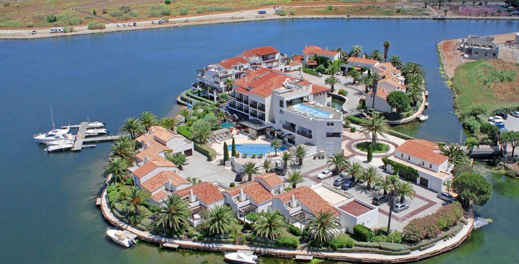 Et si on vous emmenait sur une île privée pour les vacances ? - Hôtel L'île de la Lagune 5* St Cyprien