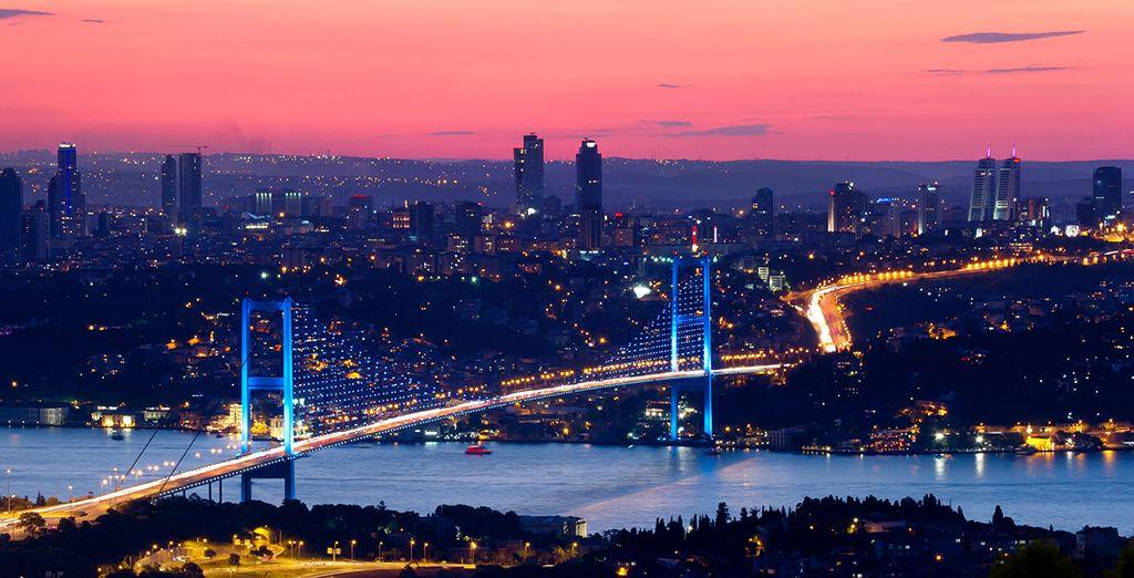 Sans oublier de faire de magnifiques panoramas de la ville...