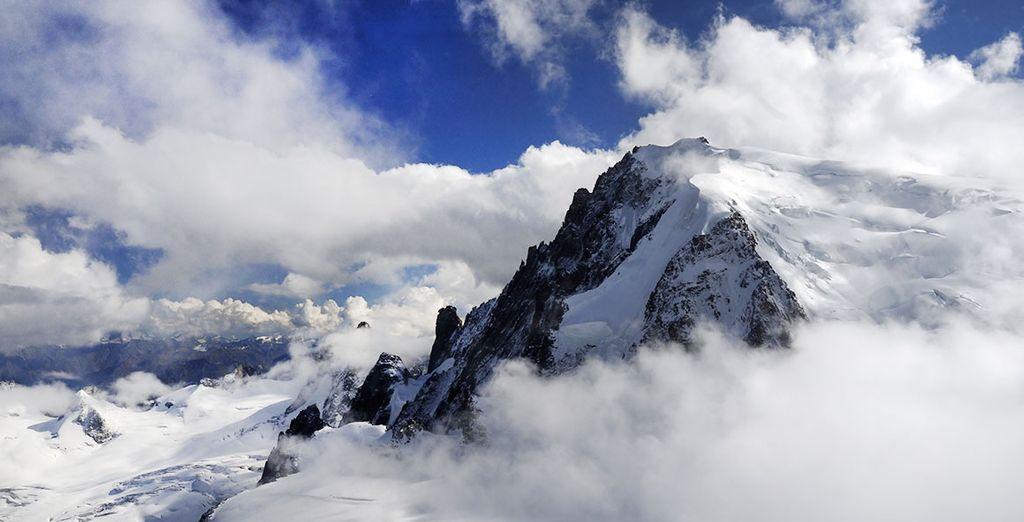 A proximité du Mont Blanc