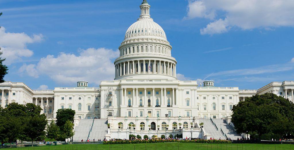 Puis direction Washington et son Capitole