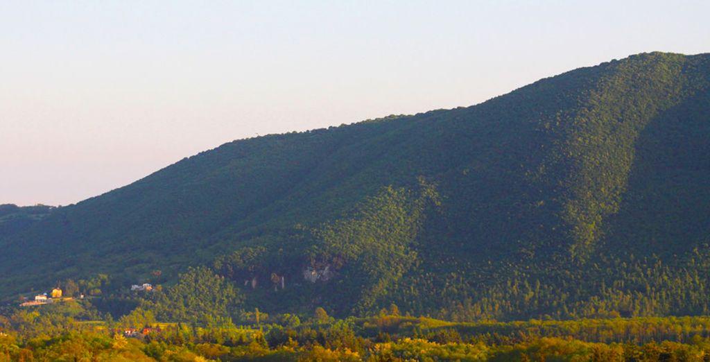 Entouré de magnifiques collines - Grand Hotel Palazzo Della Fonte 5* Fiuggi