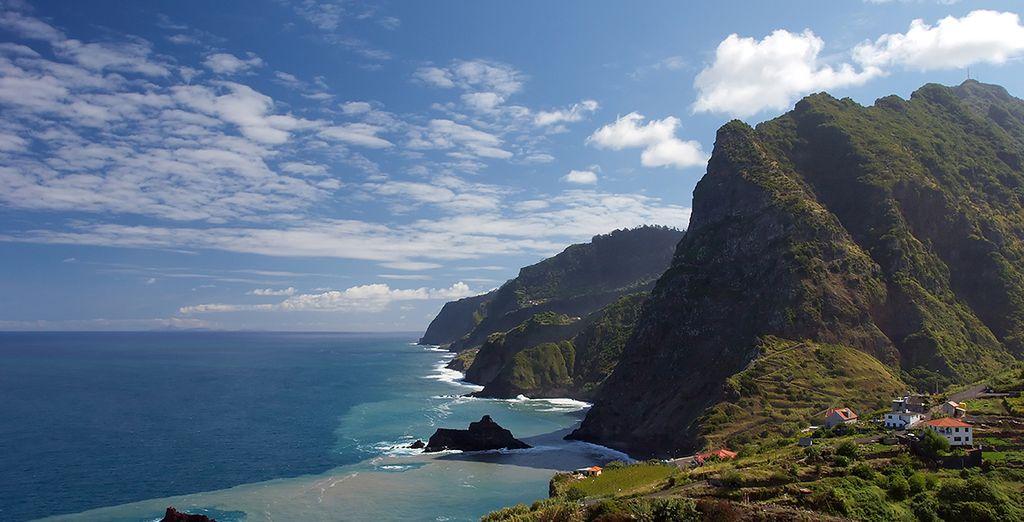 N'oubliez pas de visiter les hauteurs de l'île...