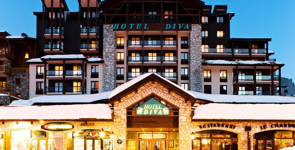 Le Diva sera votre pied-à-terre pendant ces quelques jours au ski - Hôtel Le Diva  Tignes