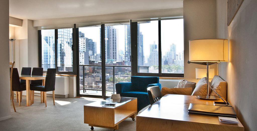 Profitez d'une vue exceptionnelle dans votre Suite - Hôtel The Marmara Manhattan 4* New York