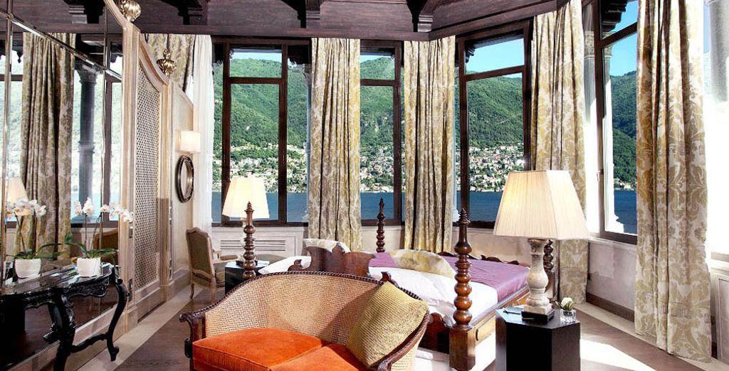 Quant à la Suite Casta Diva, elle vous assurera un séjour inoubliable !