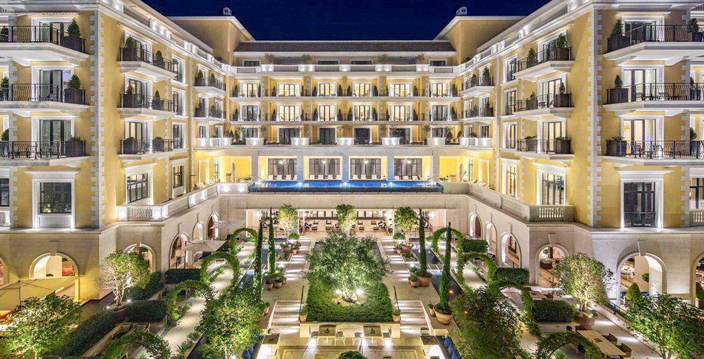 L'hôtel Regent Porto Montenegro 5* est conçu pour le repos...