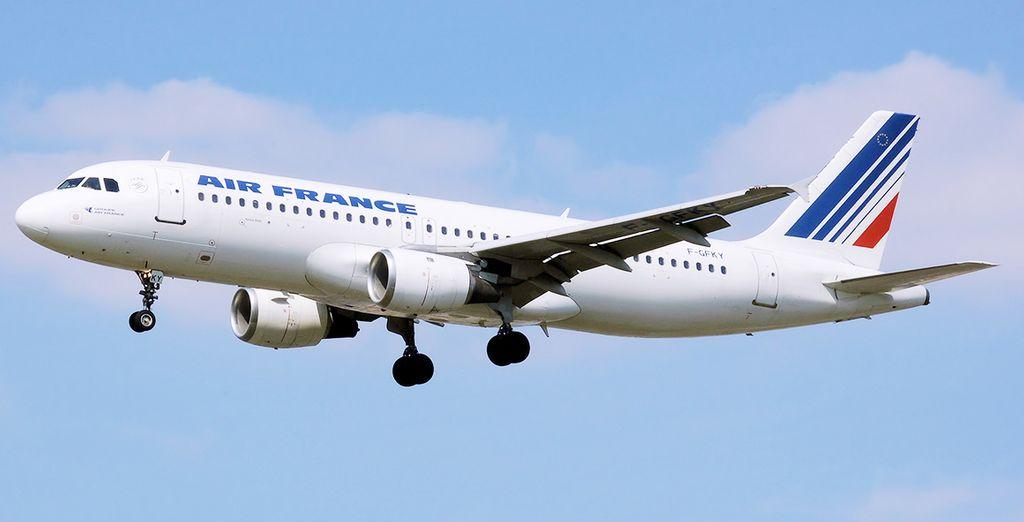 Ajoutez une touche de confort à votre voyage, envolez-vous avec Air france !