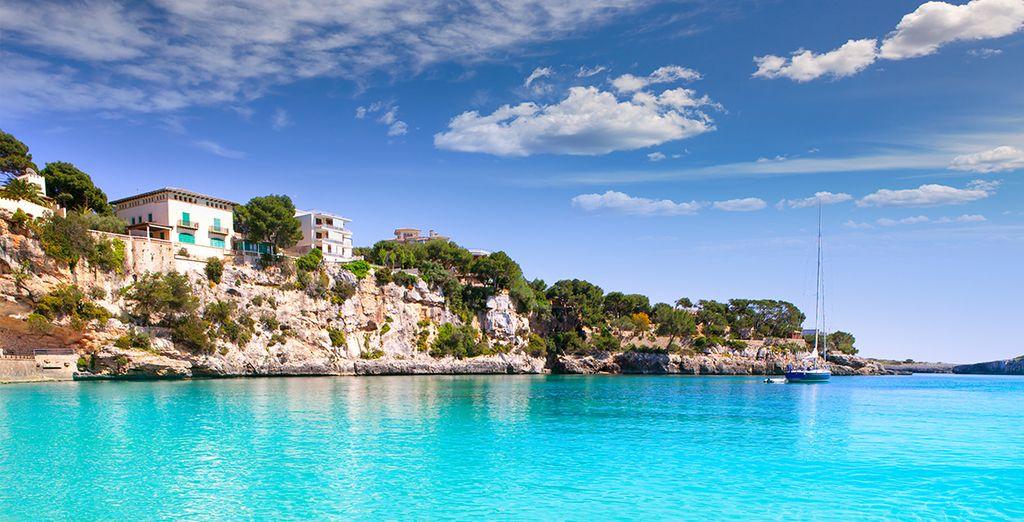 Côte de l'île de Palma de Mallorca