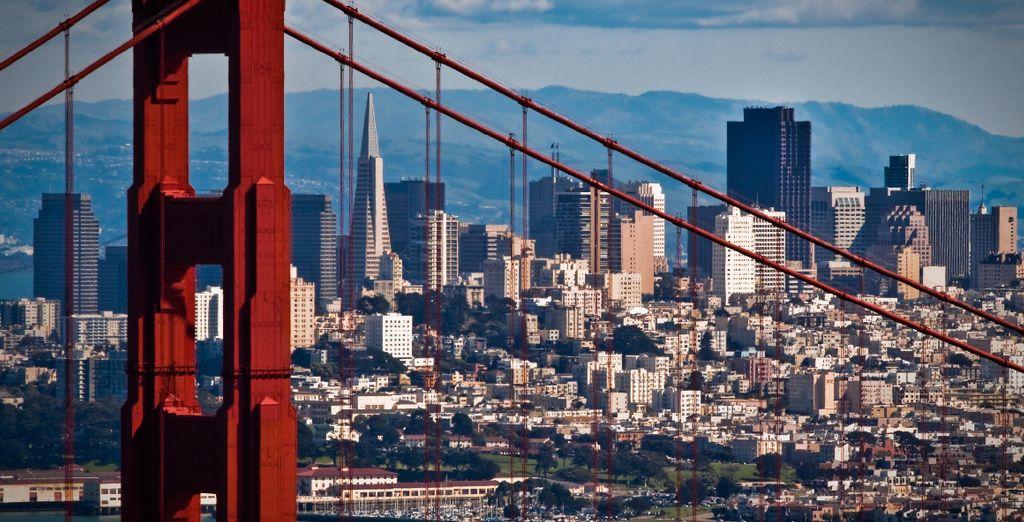 Vous serez dans les meilleures conditions pour visiter San Francisco