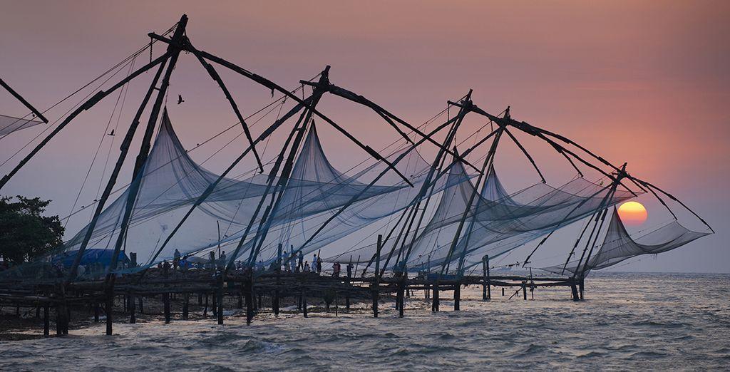 En passant par le littoral surréaliste de Cochin...
