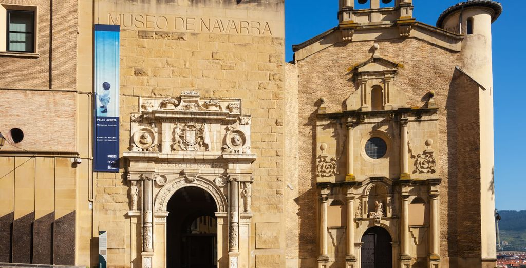 Et enfin ne passez pas à côté du musée de Navarre