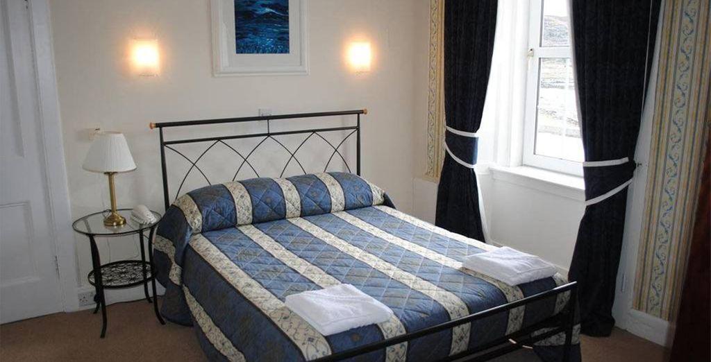 A la fin de la journée, vous apprécierez le confort de vos chambres Standards