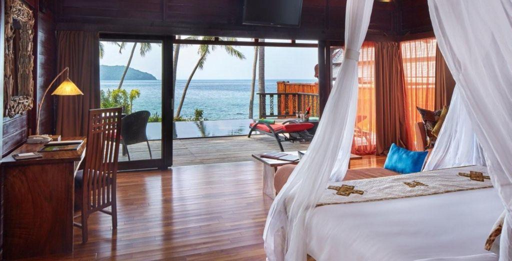 À moins que vous ne préfériez séjourner en Villa vue mer avec piscine