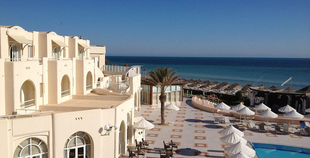 Vous passerez un séjour plaisant et délicat dans ce bel hôtel - Hôtel Club Le Télémaque Beach and Spa 4* Djerba