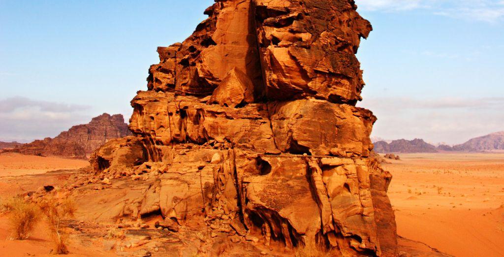 Avant de partir pour le désert de Wadi Rum