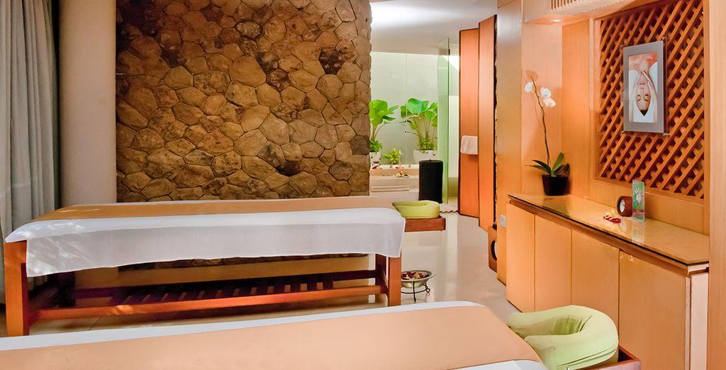 A moins que vous ne préfériez les massages, au Spa de l'hôtel
