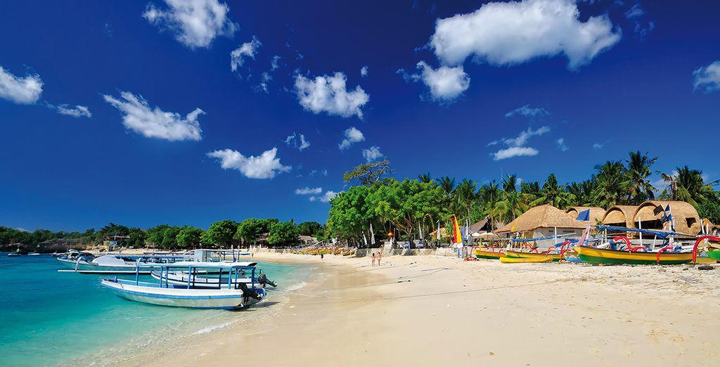 Aux plages idylliques...