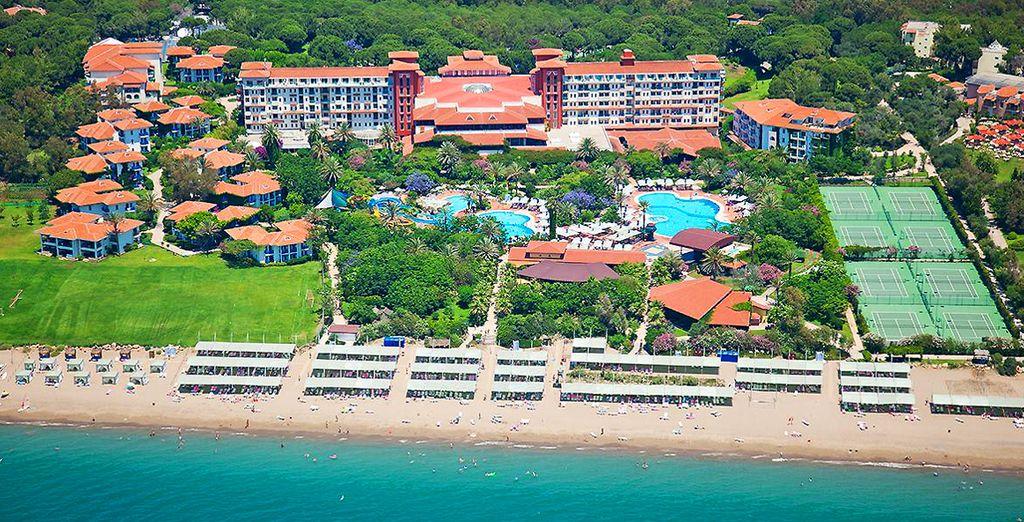 Et si vous partiez pour le sud de la Turquie, au Bel Conti Resort ? - Hôtel Bel Conti Resort 5* Belek