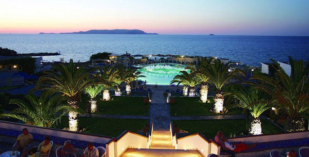Vue aérienne de l'hôtel - Hôtel Rinela Beach Resort & Spa ***** Heraklion