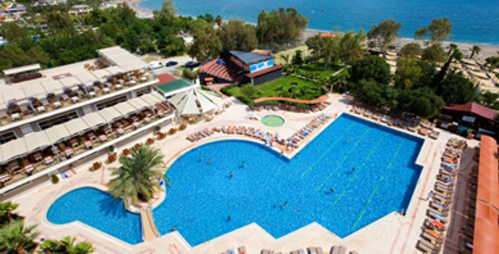 - Ganita Holiday Club ***** ou Combiné hôtel Ganita & circuit Trésors d'Anatolie - Antalya - Turquie Antalya