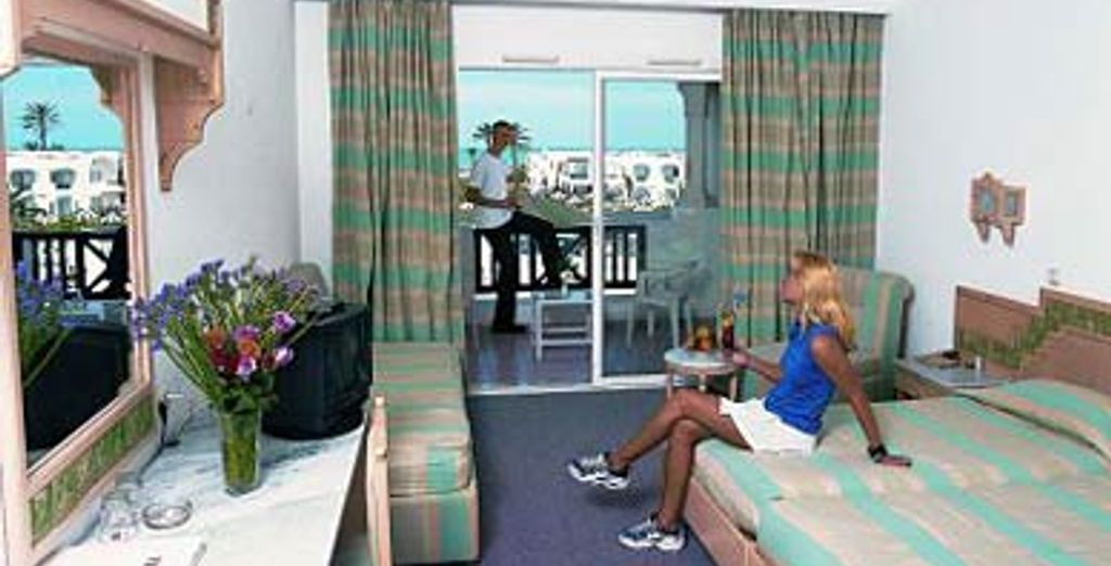 - Hôtel LTI Holiday Beach **** - Djerba - Tunisie Djerba