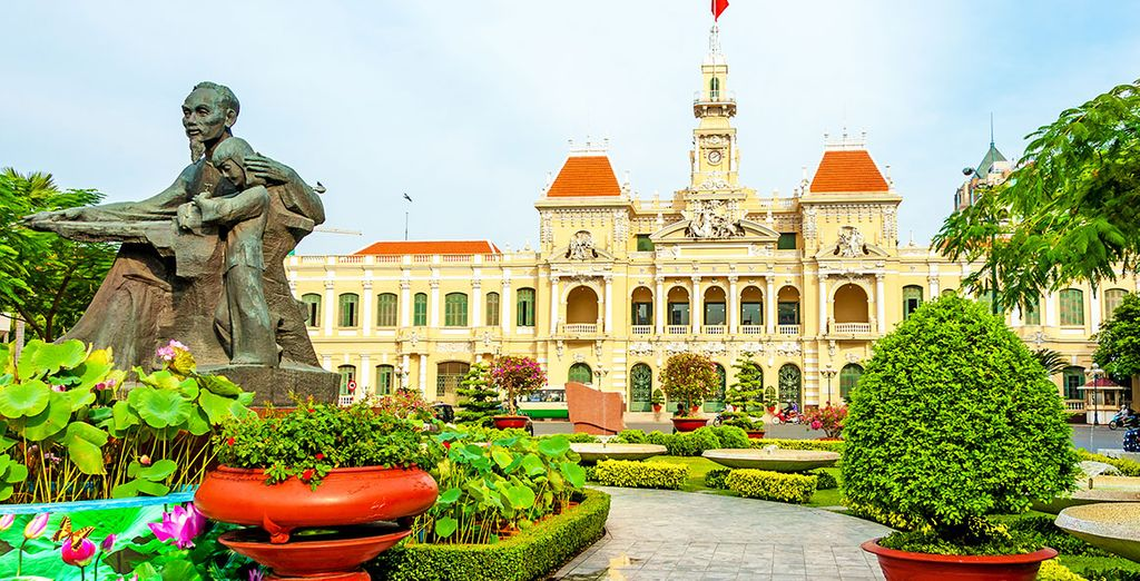 Avant de partir pour Ho Chi Minh Ville