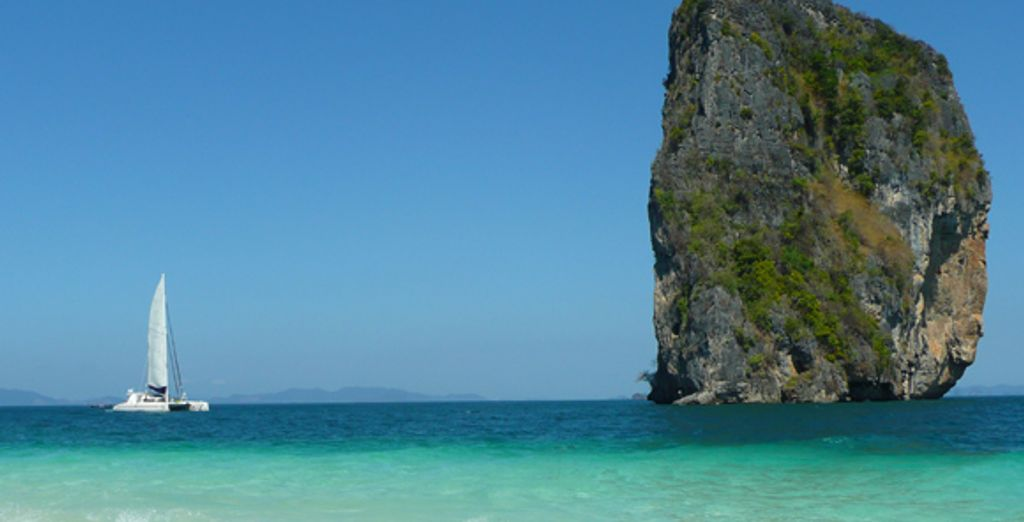 Le paysage - Croisière Dream Yacht en Thaïlande :