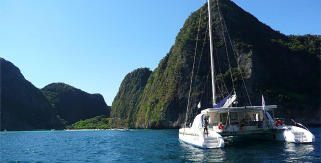 Les îles Phi Phi - Croisière Dream Yacht en Thaïlande :