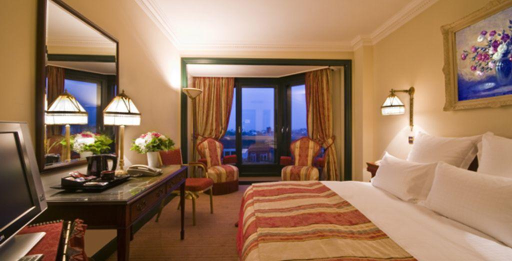 La chambre Business Première - Hôtel Warwick Barsey **** - Bruxelles - Belgique Bruxelles