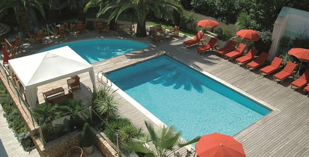 La piscine - Park & Suites Prestige Cannes Croisette Cannes