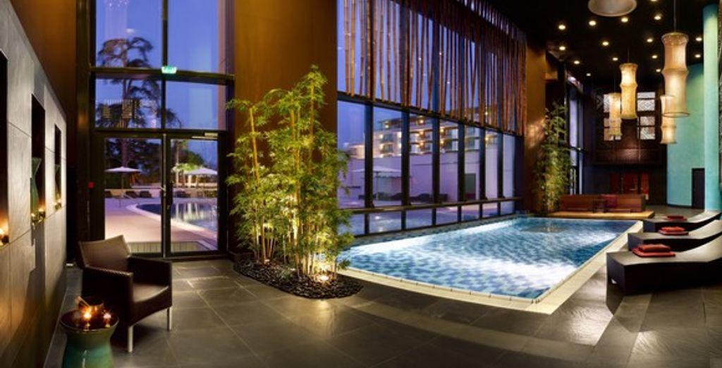 Le Buddha-Bar Spa - Hôtel Hilton Evian-les-Bains **** Evian Les Bains