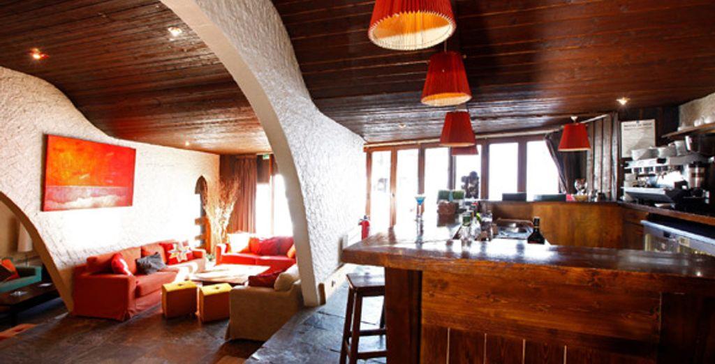 Le bar - Hôtel Les Dromonts *** Avoriaz