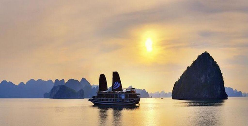 La Baie d'Along - Circuit au Vietnam : Croisière Baie d'Along et éco-lodge 4* en 8 ou 11 nuits Hanoi