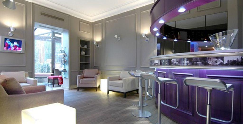 Le lounge - Hôtel Cervantes *** Paris