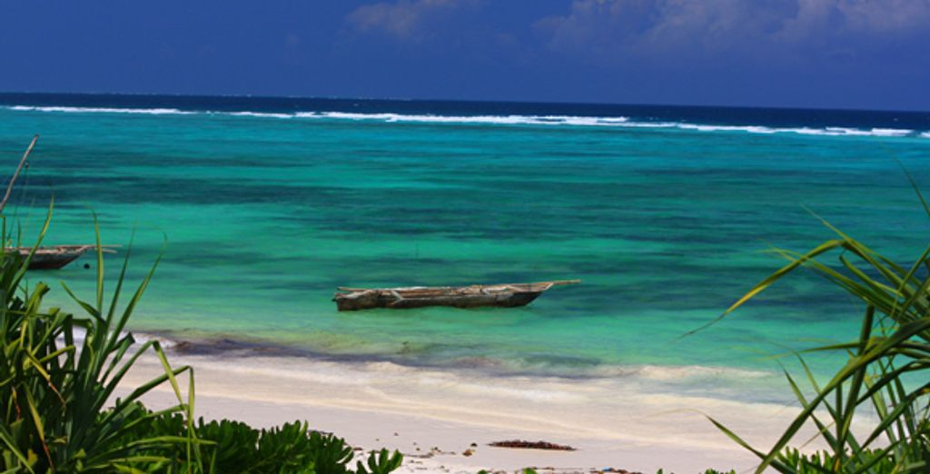Les eaux turquoise de Zanzibar