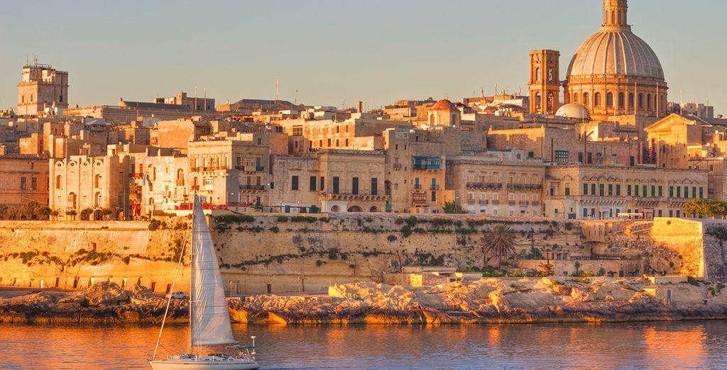 Direction l'envoûtante île de Malte...