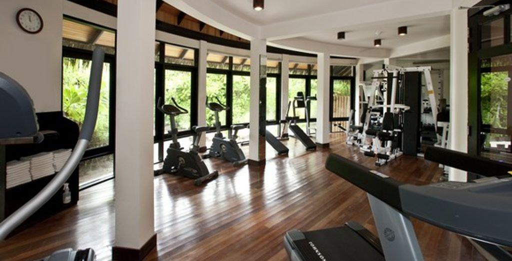 La salle de fitness