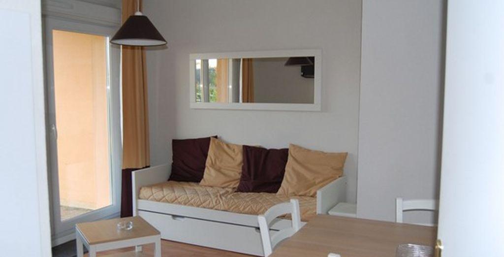 L'appartement : le salon