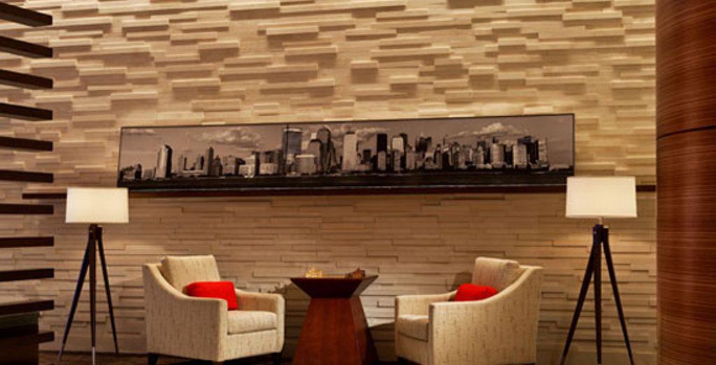 Le lobby - Hôtel Sheraton Tribeca **** New York