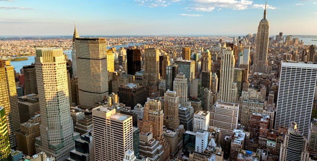 La vue sur Manhattan