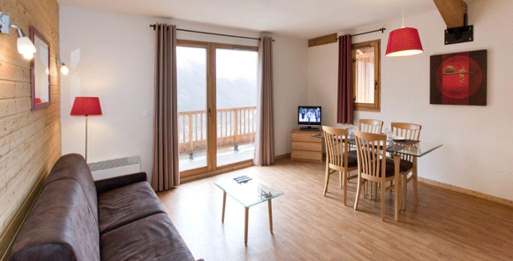 L'appartement : le coin salon